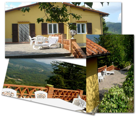 Holiday Villa near Lucca
